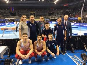 El equipo español se quedó a un punto del bronce (vía @Manueltinez1)