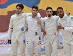 Equipo espada masculino - Yerevan-2018
