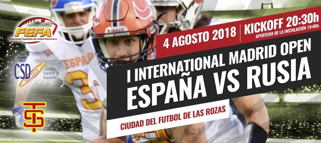 FÚTBOL AMERICANO - Este sábado disfruta del International Madrid Open en Las Rozas
