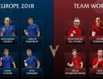 Equipo de Europa y Resto del Mundo
