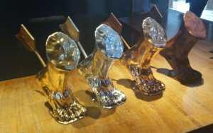 Originales Trofeos Aquiles del esperado Festival FICA