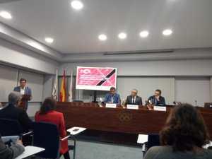 Presentación de FICA con #isidroarranz , prensa RFEA, Raúl Chapado, Presidente de la RFEA, Alejandro Blanco, Presidente del COE y Juantxu Sabadie, Director de FICA.