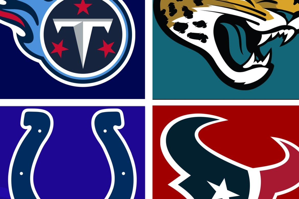 AFC South (Fuente : Dinasty football)