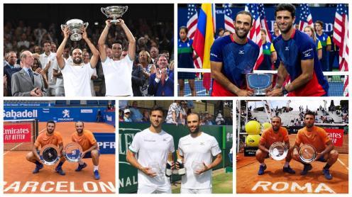 Cabal y Farah dominan el tenis mundial. Los colombianos son los doblistas N°1 del mundo en 2019