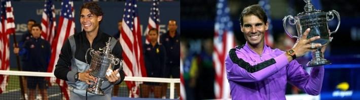 La década terminó como comenzó, con el mismo ganador del US Open y el mismo N°1 del mundo: Rafael Nadal