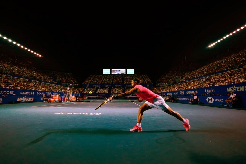Rafa Nadal en su cuarta final de Acapulco