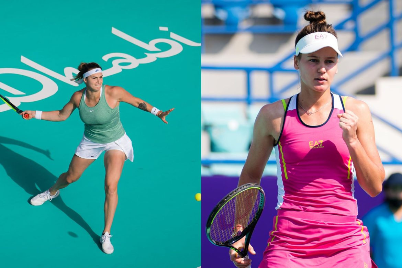Sabalenka y Kudermetova jugarán la final del WTA Abu Dhabi
