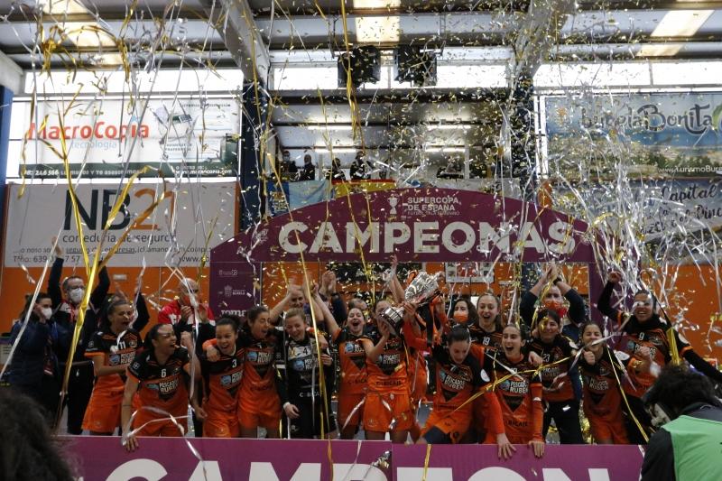 Burela campeón de la Supercopa Femenina.