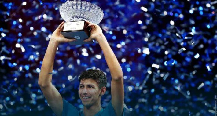 Alexei Popyrin conquista su primer título ATP