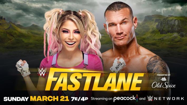 Orton vs Bliss en Fastlane