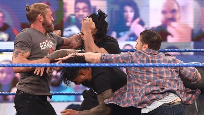 SmackDown Previo a Wrestlemania