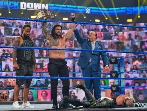 Roman Reigns. Campeón Universal.