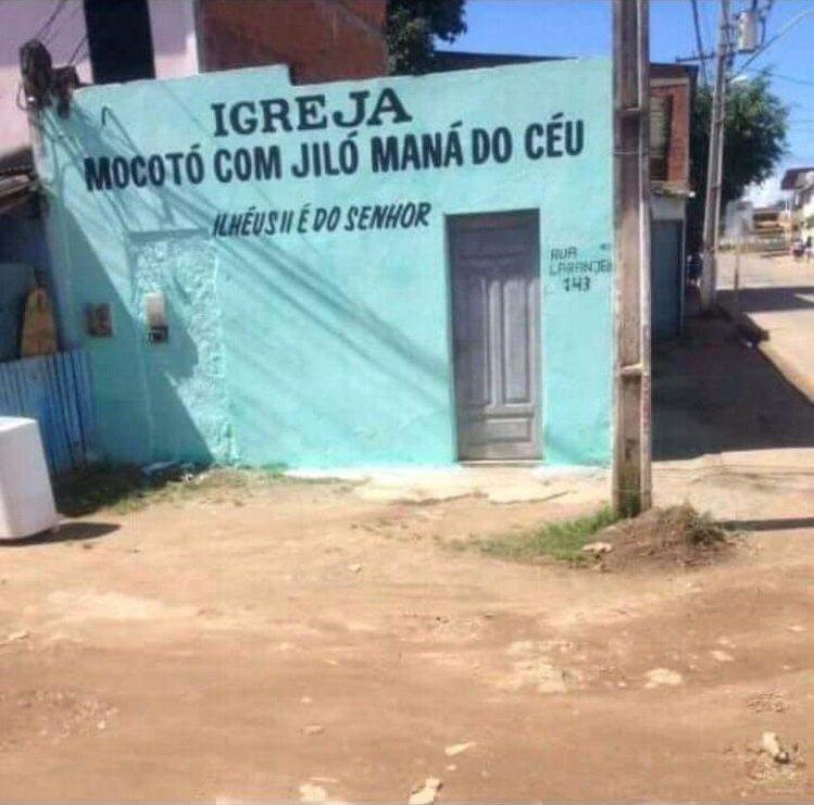 gilo mana do céu Igreja Mocotó com Jiló