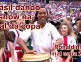 Ronaldinho Gaúcho dando show na copa