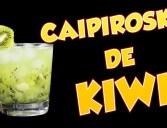 Como fazer Caipiroska de Kiwi
