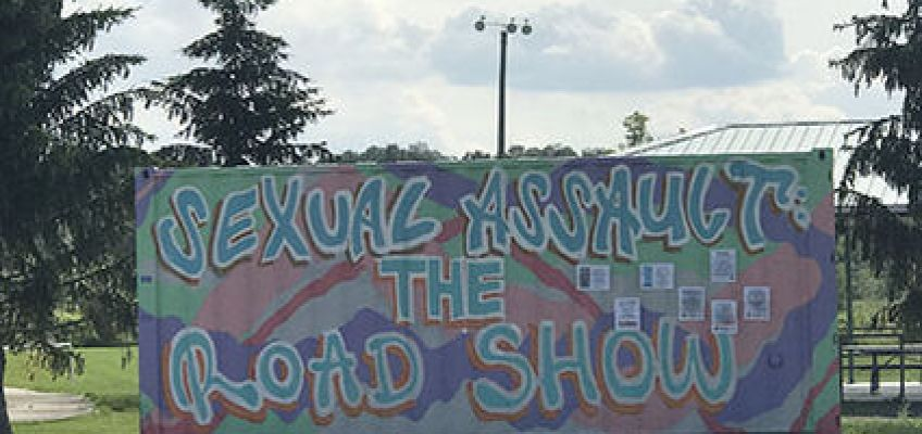Sexual Assault: The Roadshow stopped in Akwesasne for the month of July