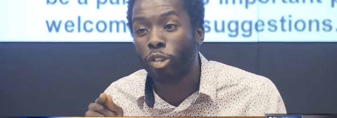 WATCH: Activist/Journalist Desmond Cole protests police carding of Black community and shuts down the Toronto Police Service Board meeting!