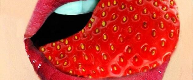 sexo oral boca fresa