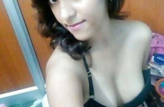 hot cute girl hot selfie