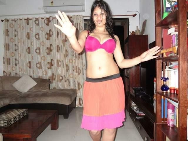 hot pink bra me photo