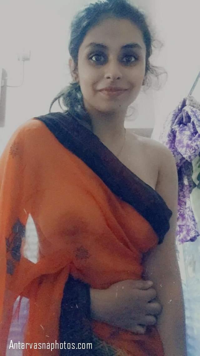 shower me sirf saree me