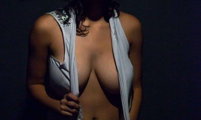 panty utar cleavage dikhati