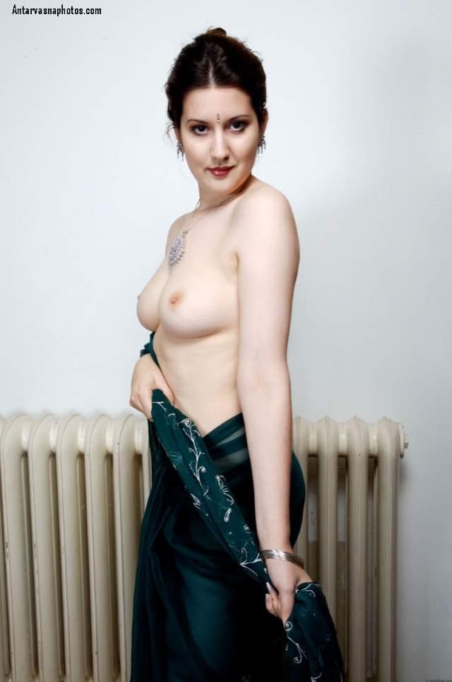 saree me nude pake aam side se