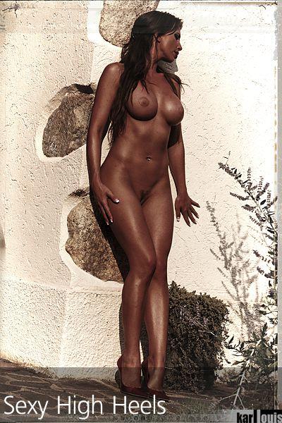 Francesca Felucci Nude Red Heels 00