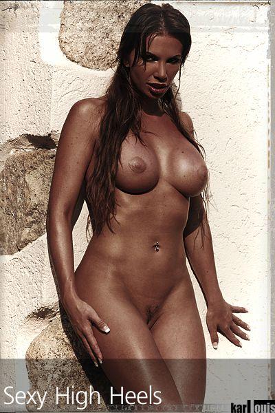 Francesca Felucci Nude Red Heels 01