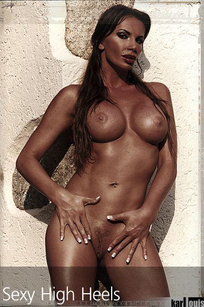 Francesca Felucci Nude Red Heels 04