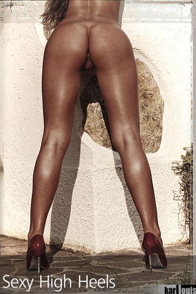 Francesca Felucci Nude Red Heels 07