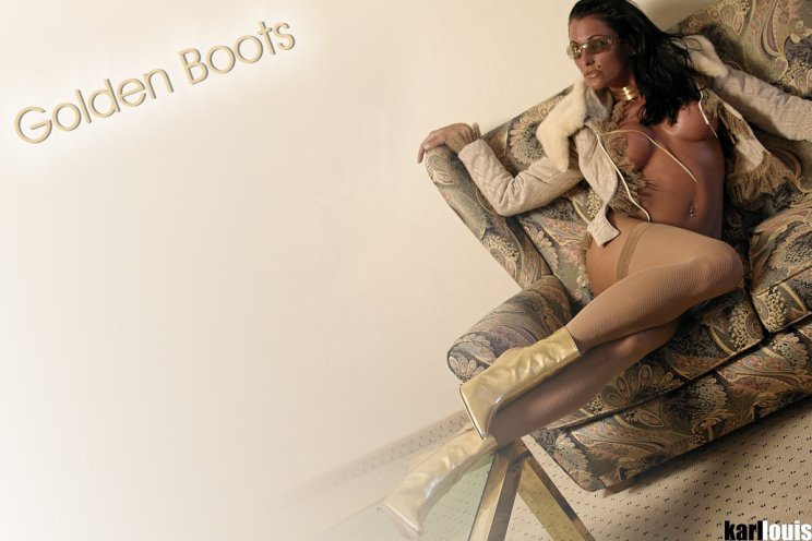 Elizabeth Carson Golden Boots