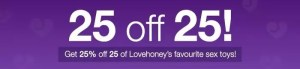lovehoney exclusive offers may 2016