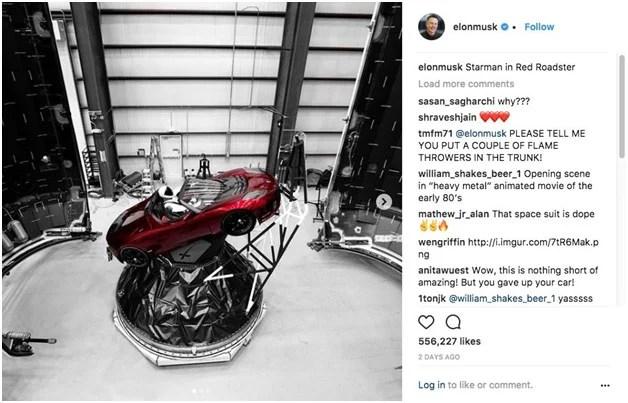 Second Elon Musk Tweet