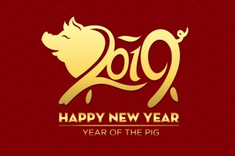 It's Chinese New Year. Love a Pig.