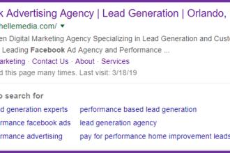 Search Facebook Advertising Orlando