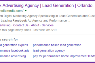 Search Facebook Advertising Orlando