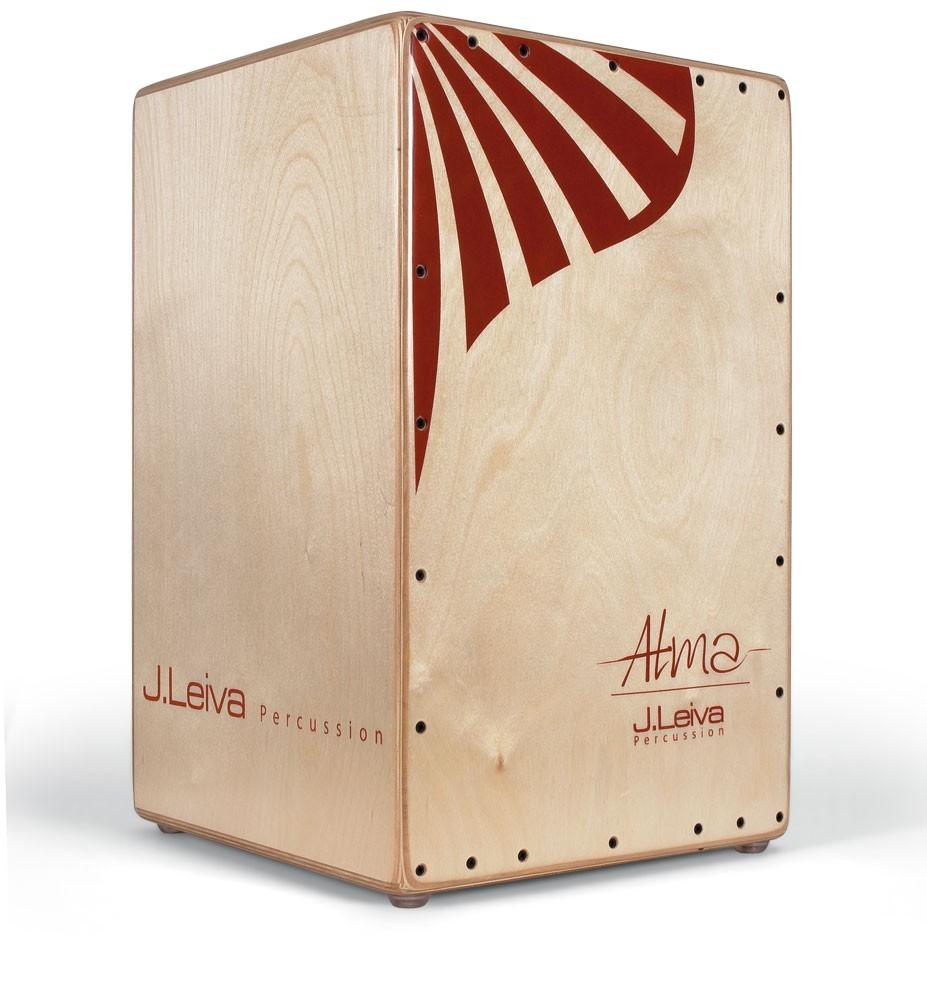 J. Leiva Cajon Alma red (lacquered)