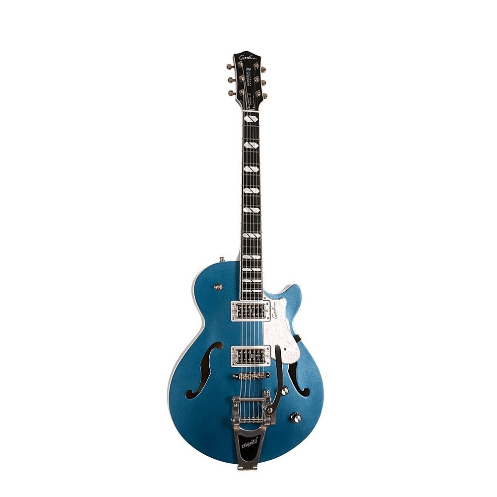 Montreal Premiere Ltd Desert Blue w/Bigsby with TRIC