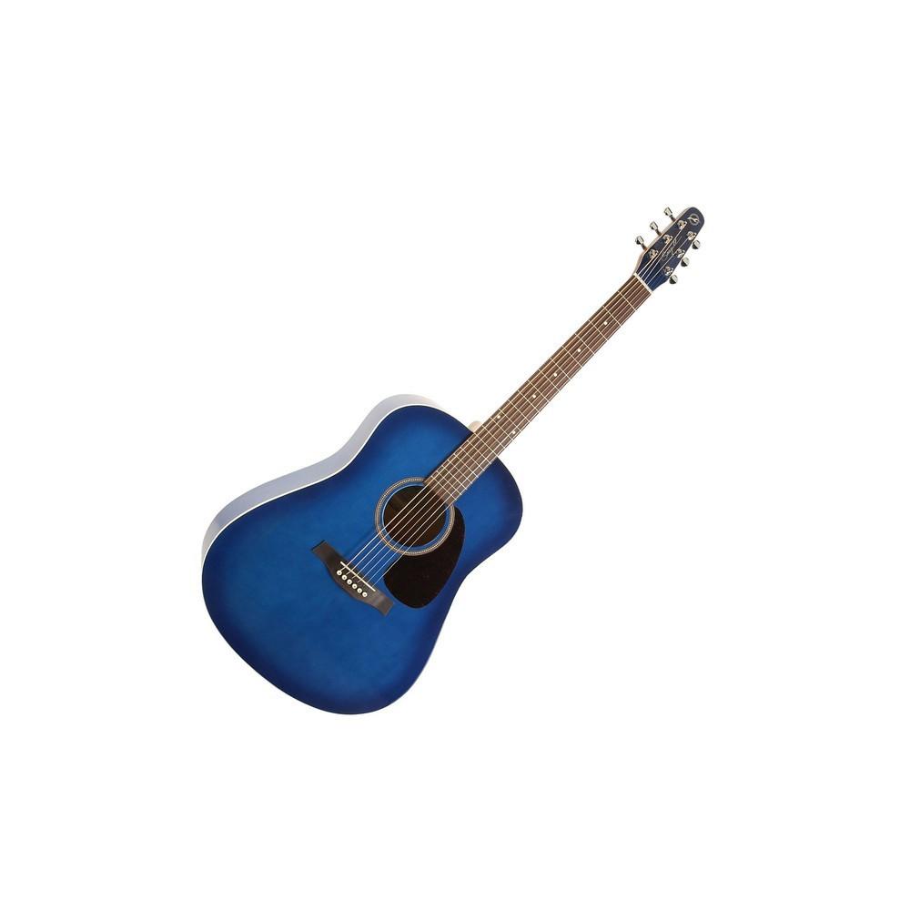 GUITARE FOLK SEAGULL S6 ORIGINAL SPRUCE TRANS BLUE BURST GT A/E