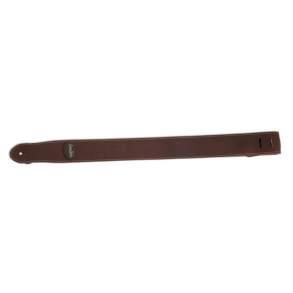 S&P Strap Mat Brown Leather GS-124BRW Marron