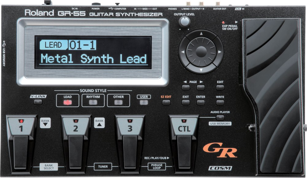 ROLAND BOSS GUITAR SYNTHETISEUR GR-55 (EXPO)