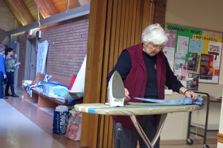 Bev A, Community Quilt Day