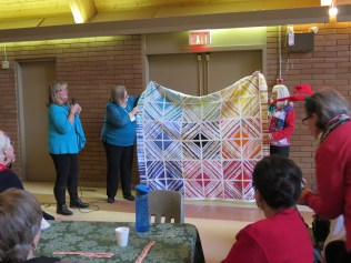 Pam's Selvage Quilt
