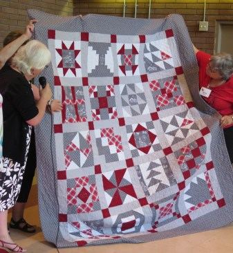 Marilyn's Flannel Quilt