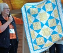 Marilyn's baby quilt