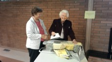Sonia, Isabel, Community Quilt Day