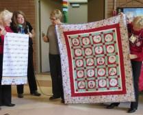 Connie's quilt & pillowcase