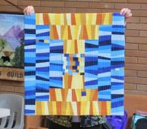 Isabelle's quilt, Krista Hennebury workshop