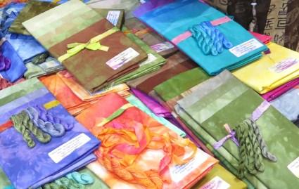 Susan's dyed fabrics